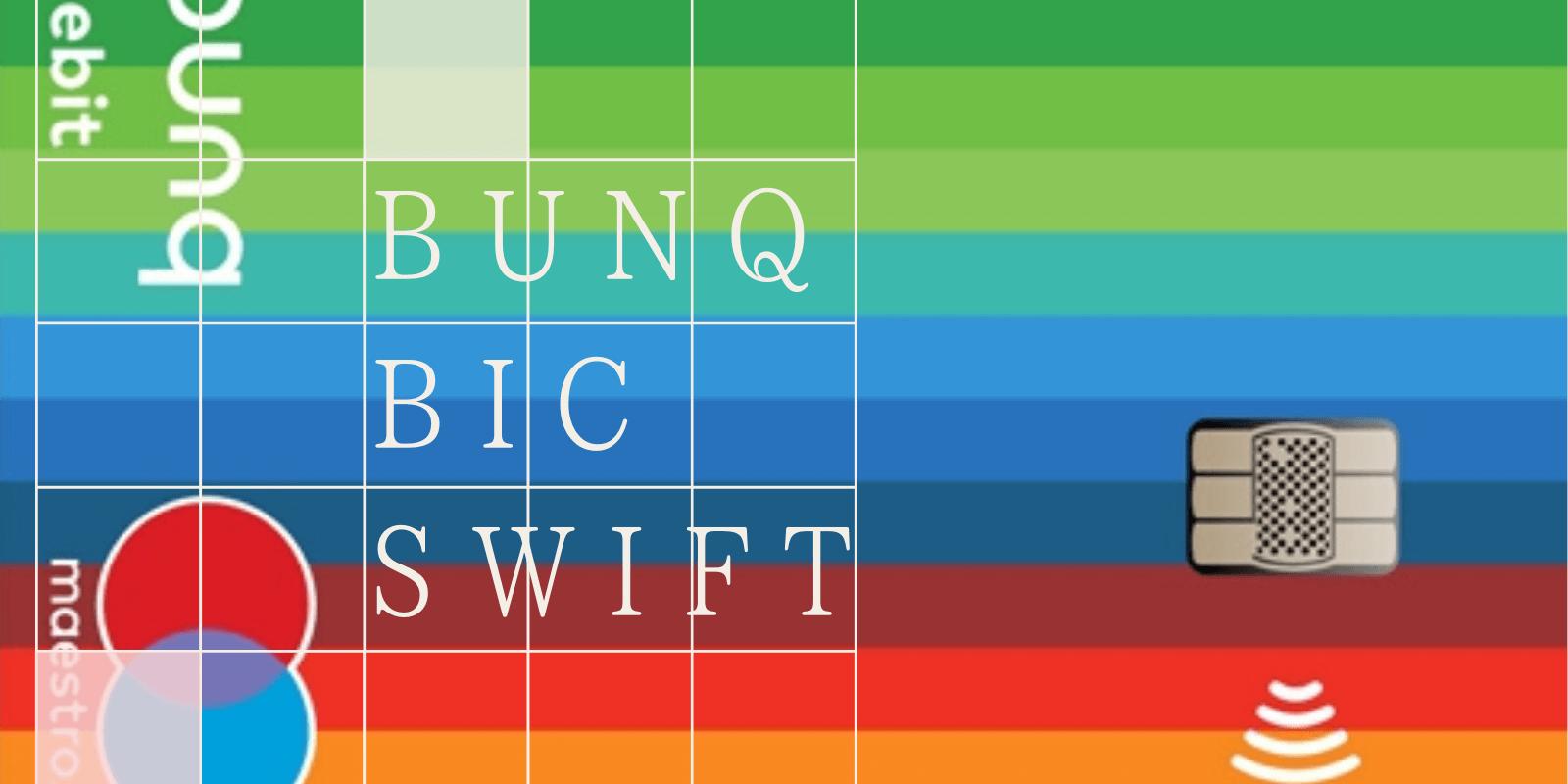 Bunq Bic SWFT